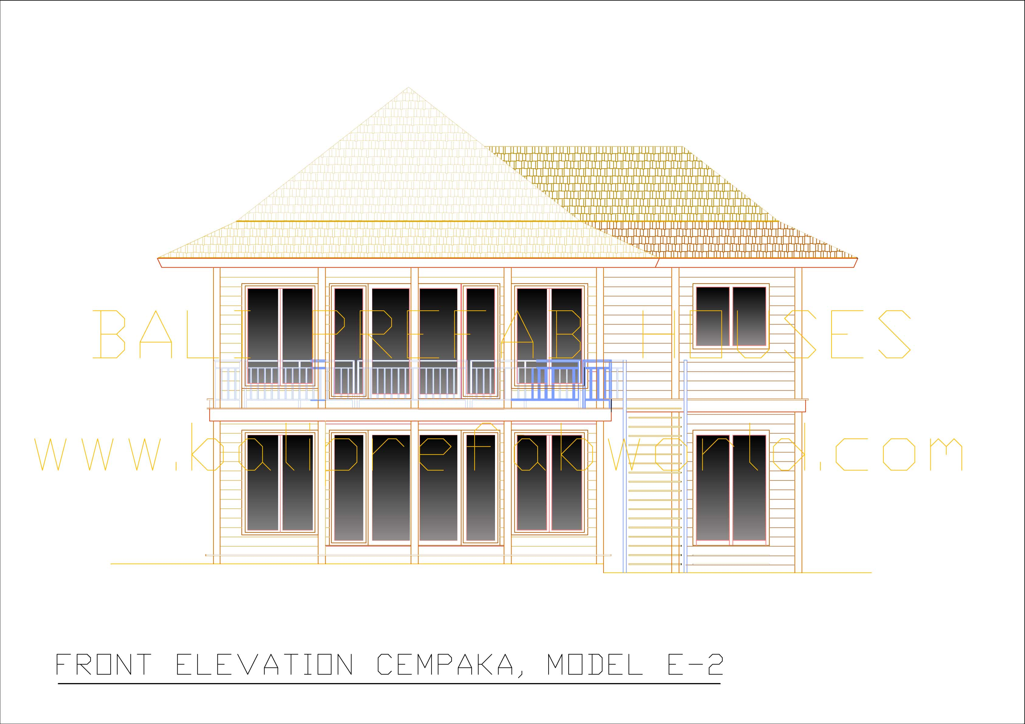 Cempaka front elevation