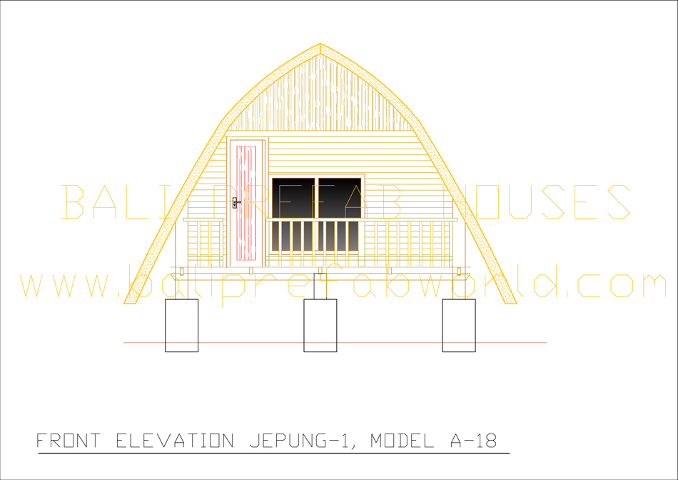 Jepung A 18 OLD front elevation