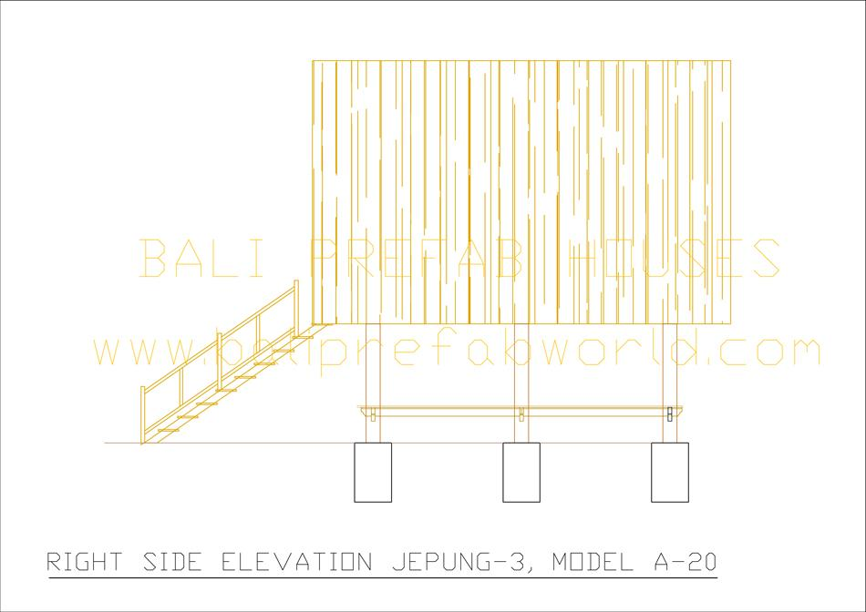 Jepung-A-20 right side elevation