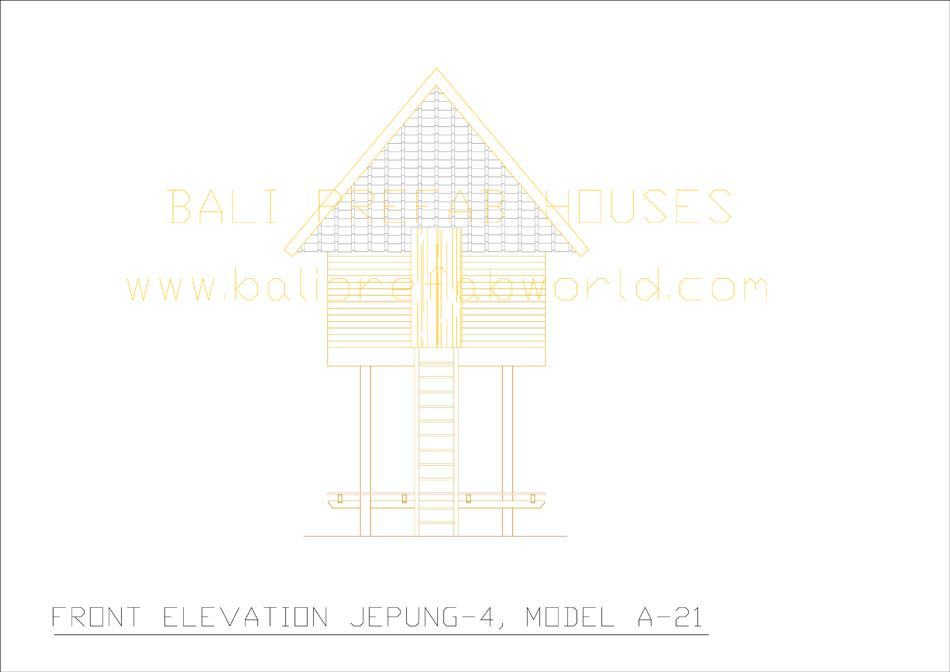 Jepung-A-21 front elevation