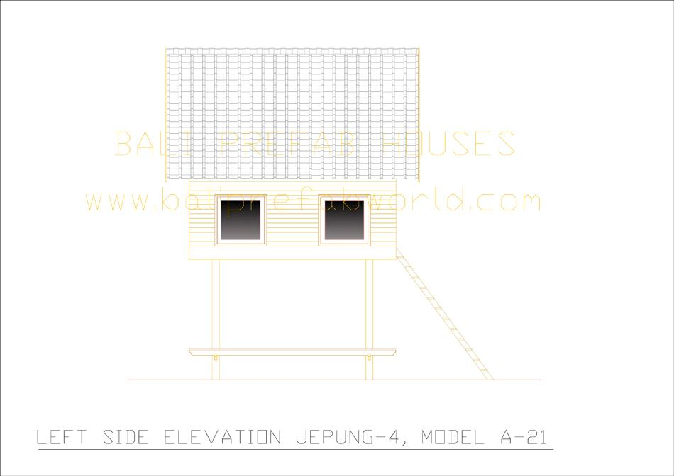Jepung-A-21 left side elevation
