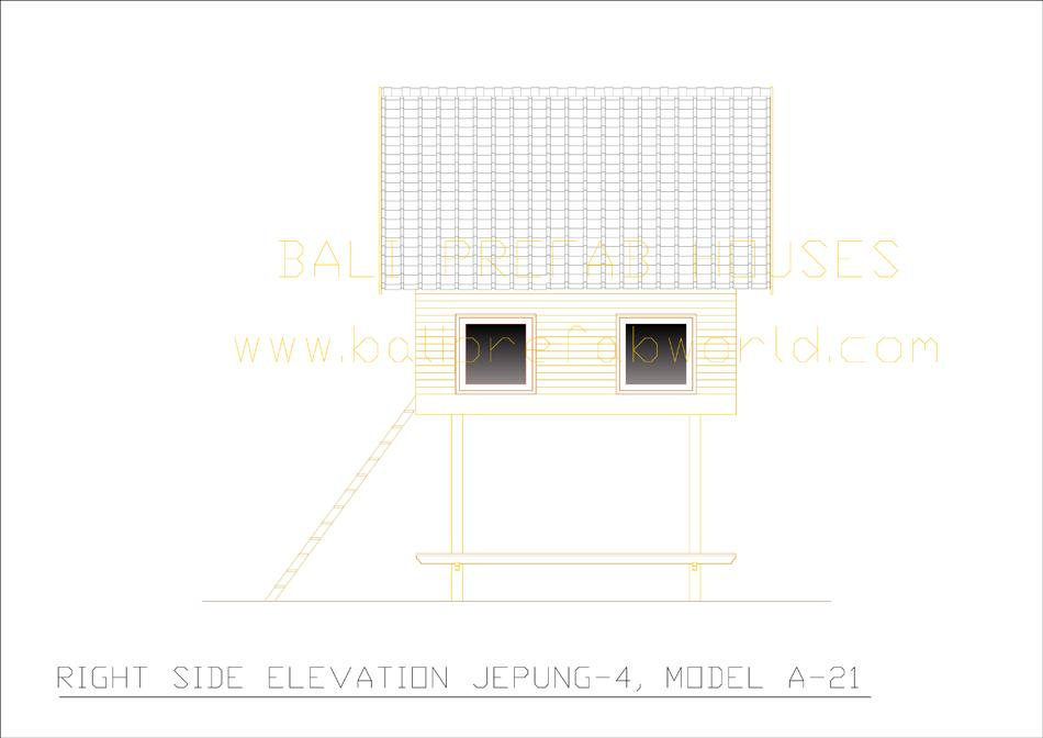 Jepung-A-21 right side elevation