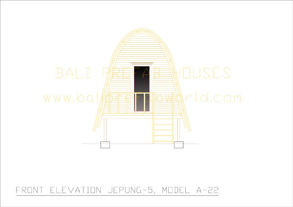 Jepung-A-22 front elevation