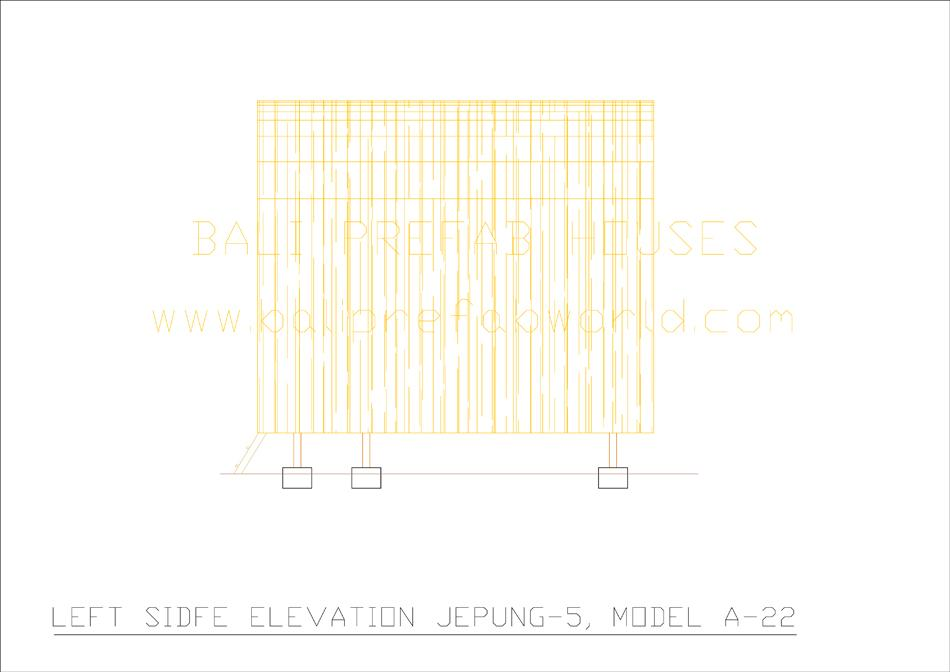 Jepung-A-22 left side elevation