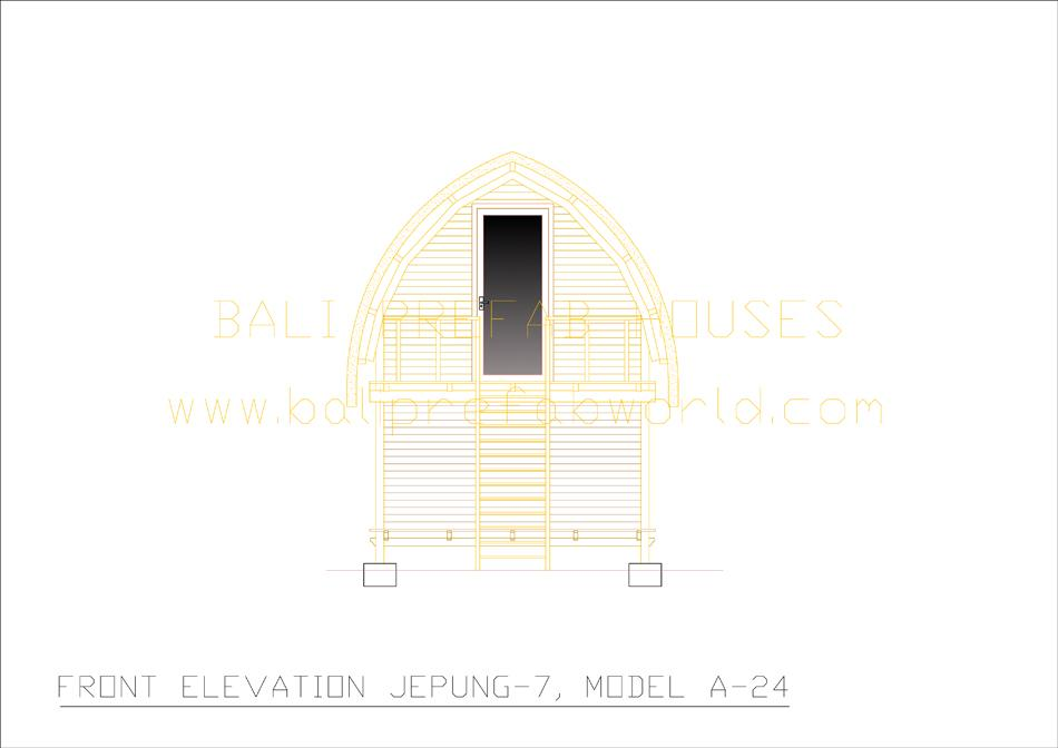 Jepung-A-24 front elevation