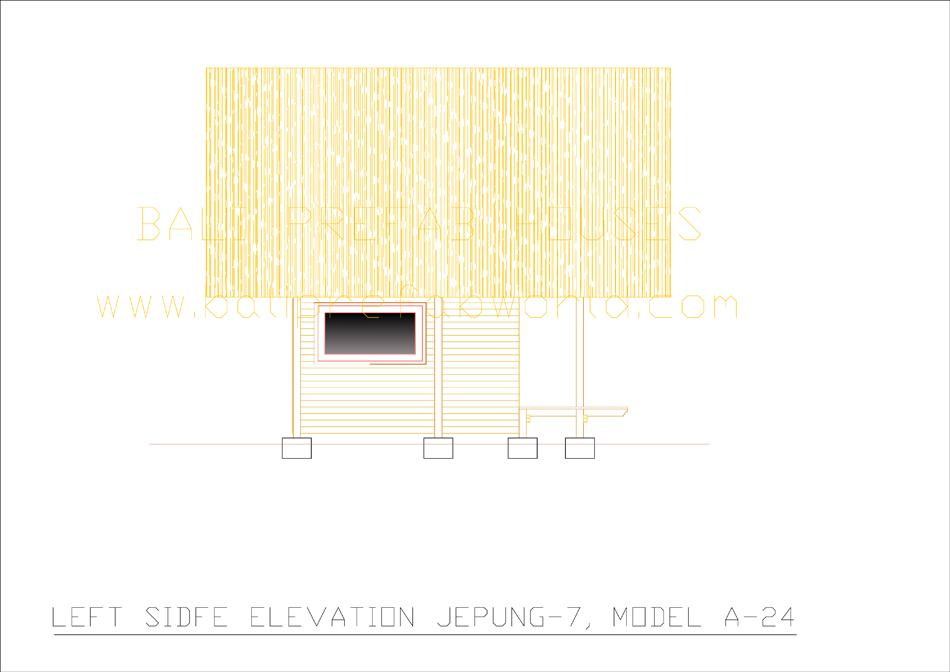 Jepung-A-24 left side elevation