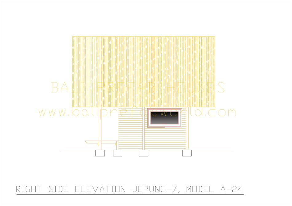 Jepung-A-24 right side elevation