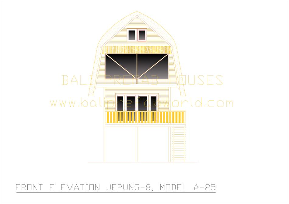 Jepung-A-25 front elevation