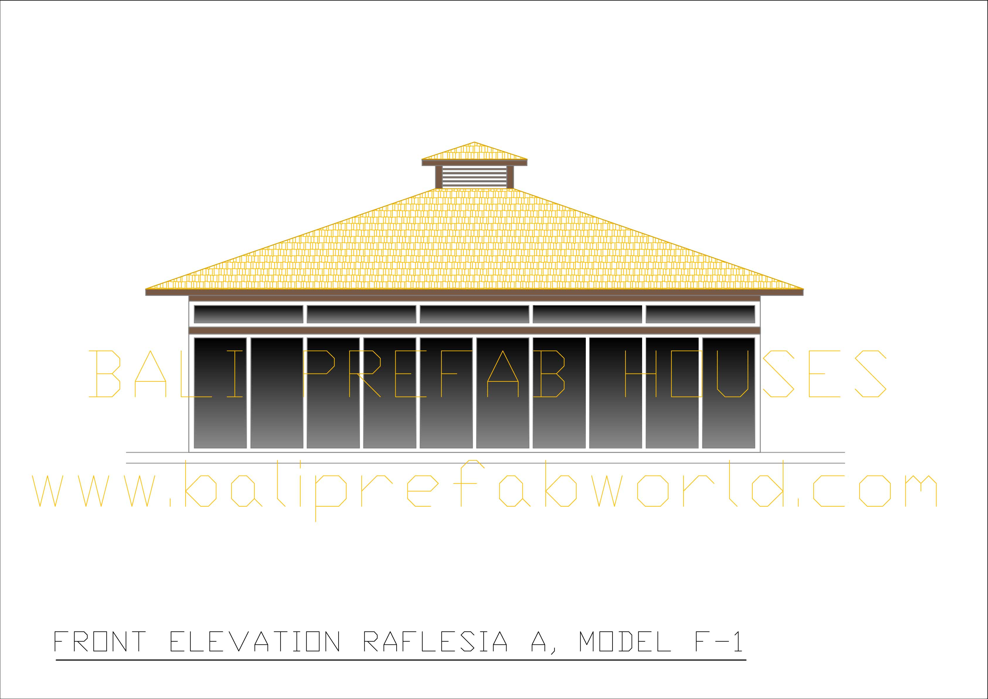 Raflesia-A front elevation