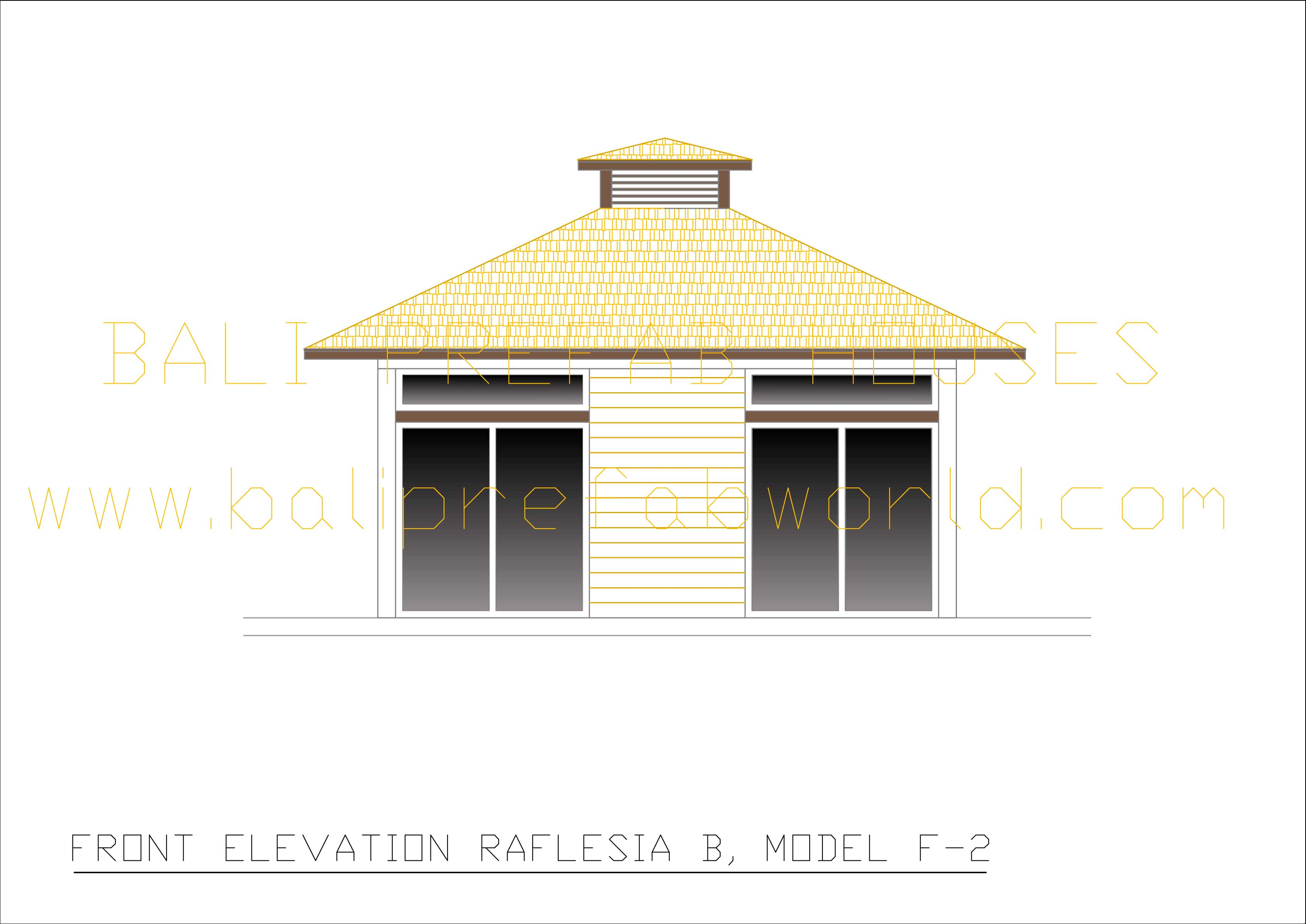 Raflesia-B front elevation