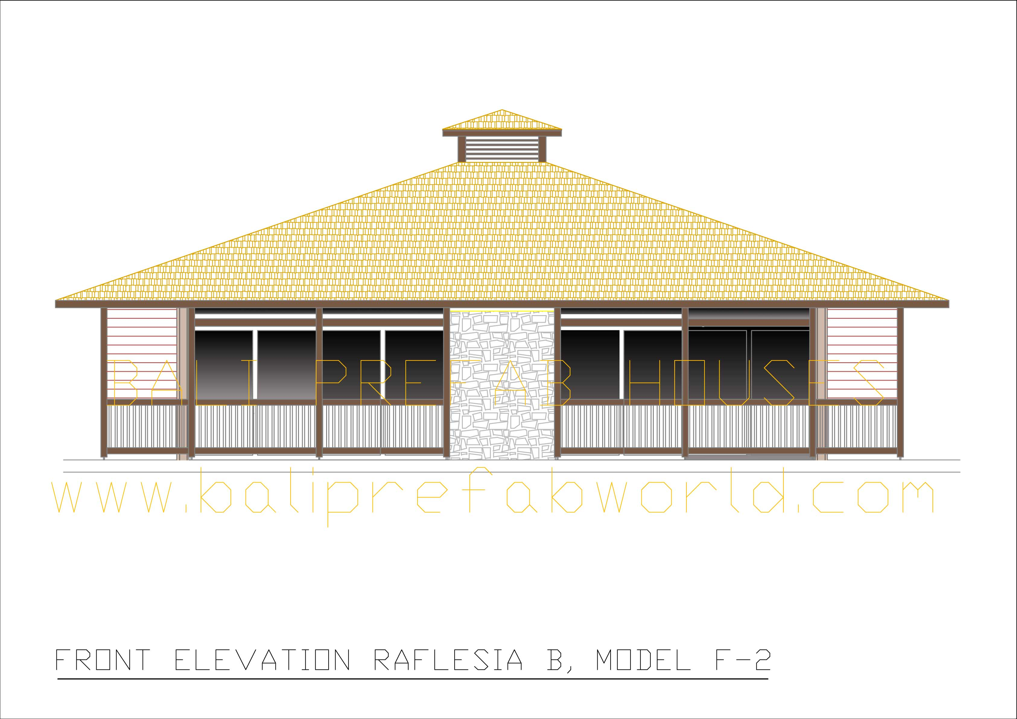 Raflesia-C front elevation