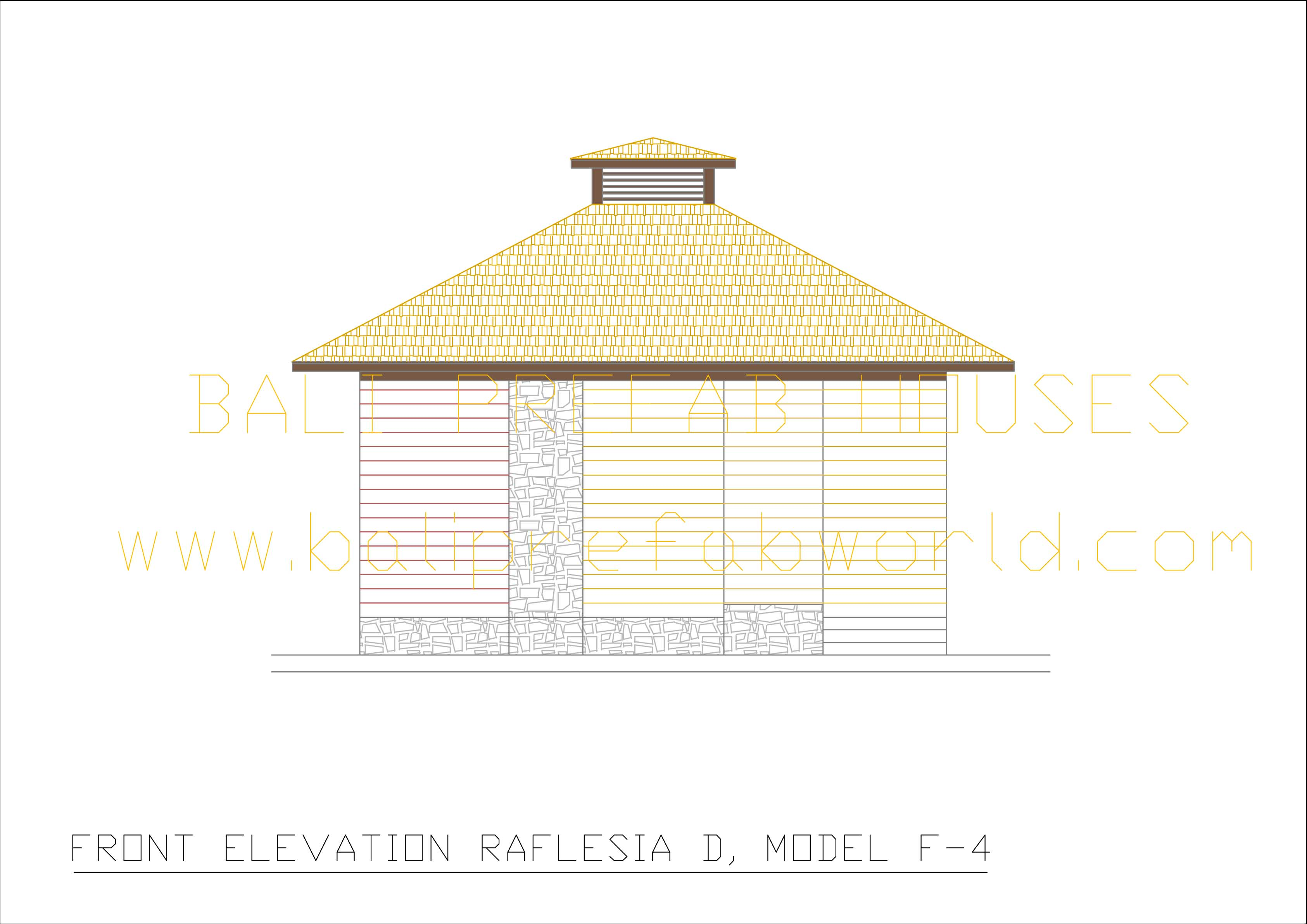 Raflesia-D front elevation