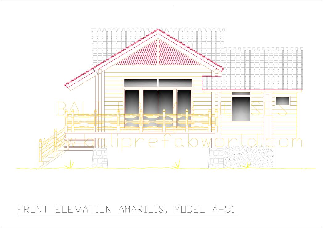 Amarilis front side elevation