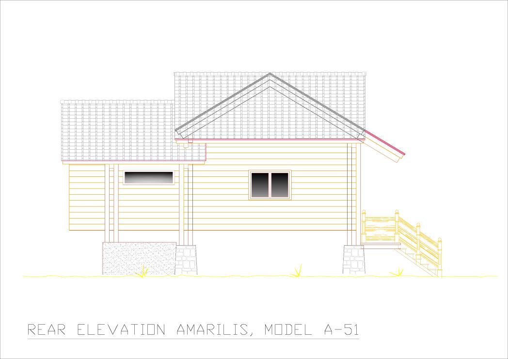Amarilis rear elevation