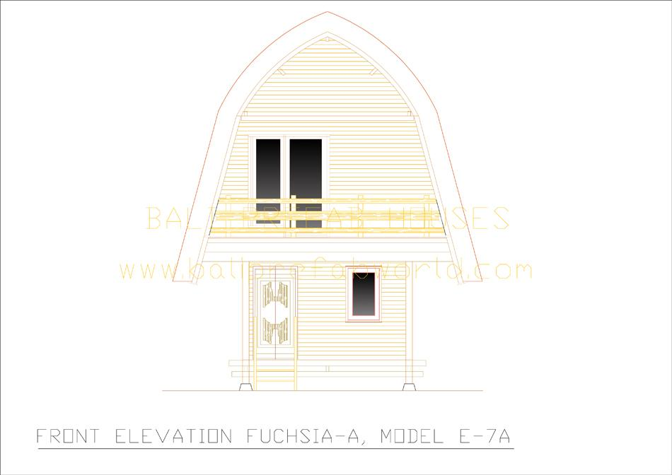 Fuchsia-A front elevation