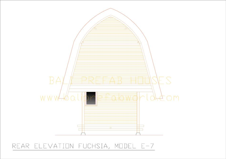 Fuchsia-A rear elevation