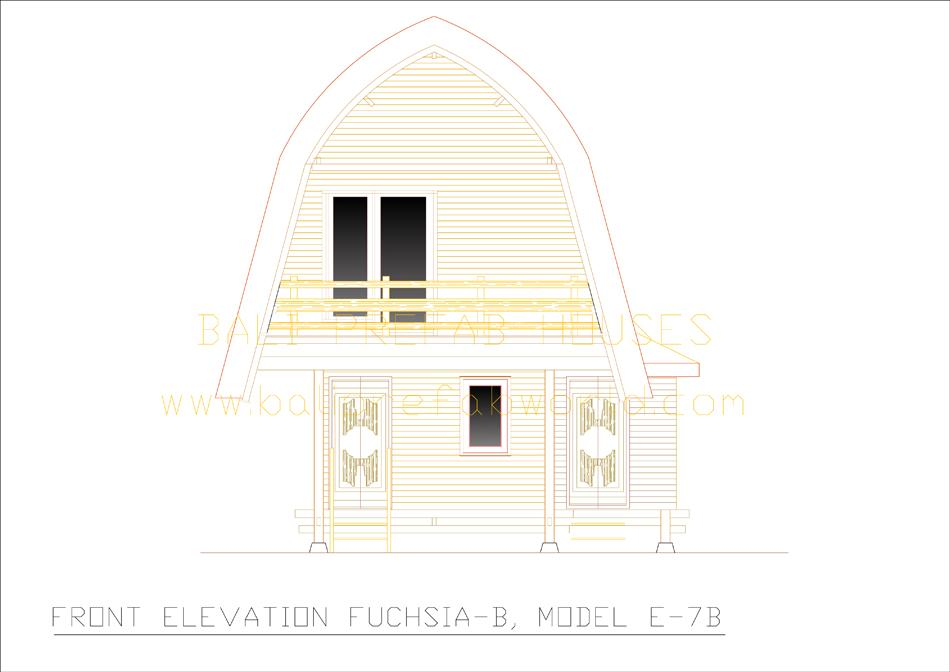 Fuchsia-B front elevation