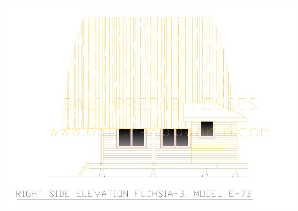 Fuchsia-B right side elevation