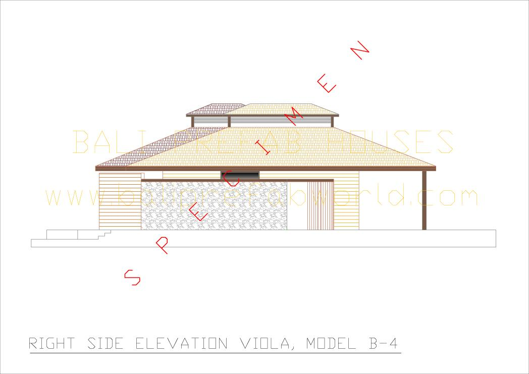 Front Elevation Side Elevation : Type viola