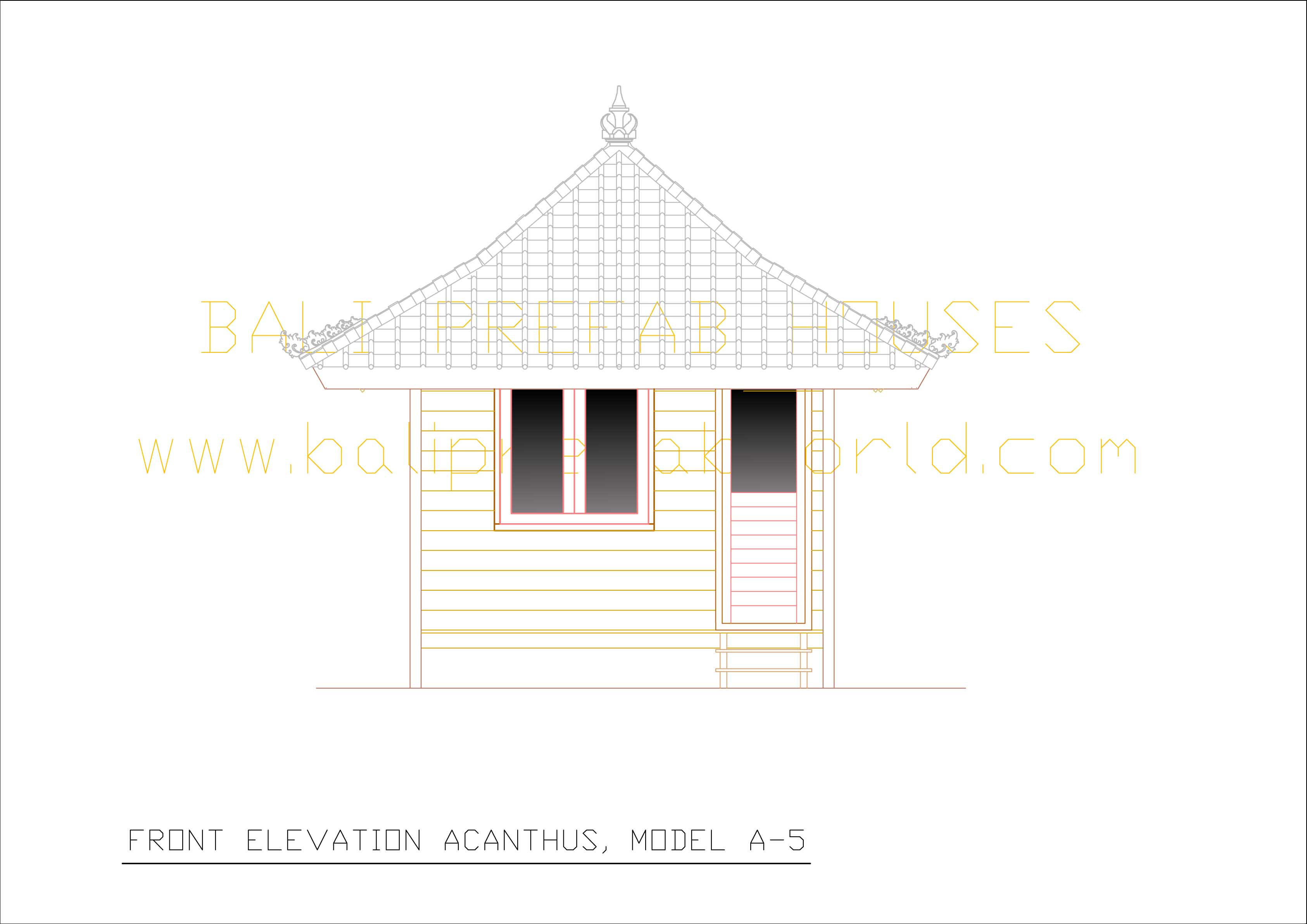 Acanthus1 front elevation