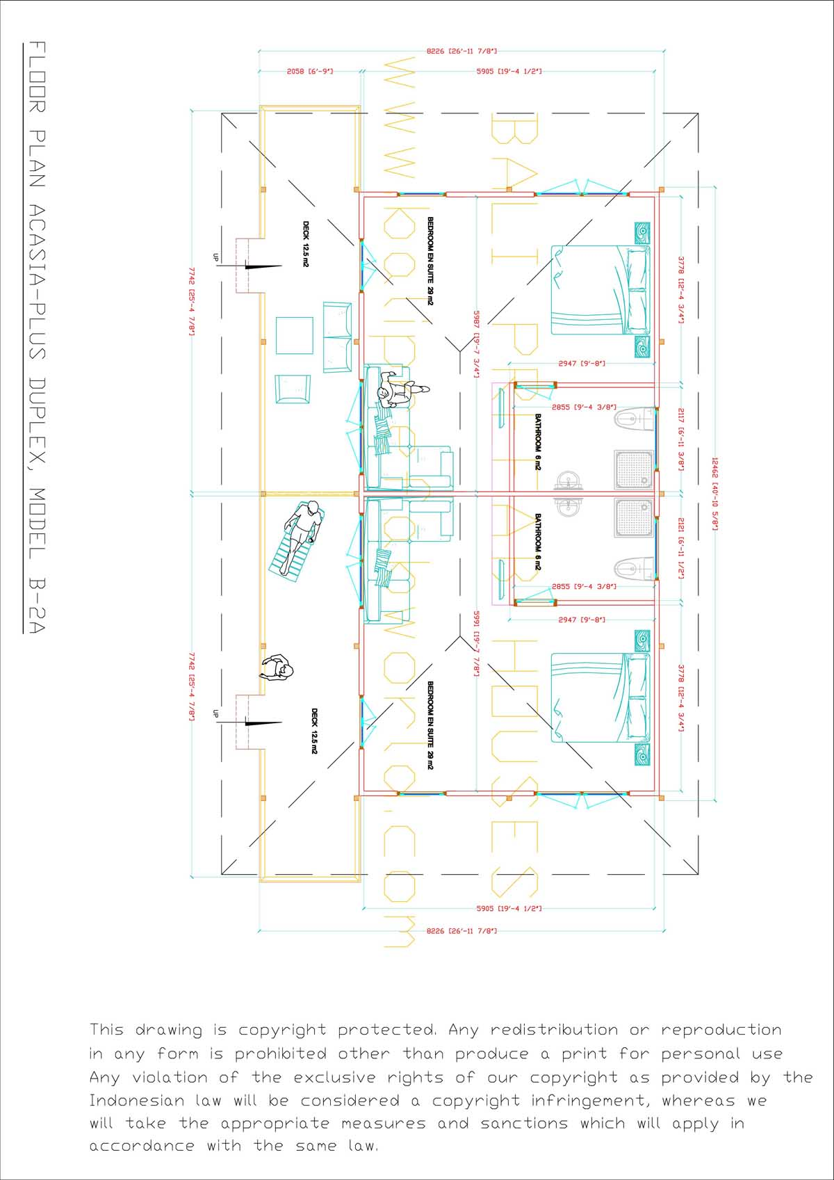 Acasia-plus floorplan-A