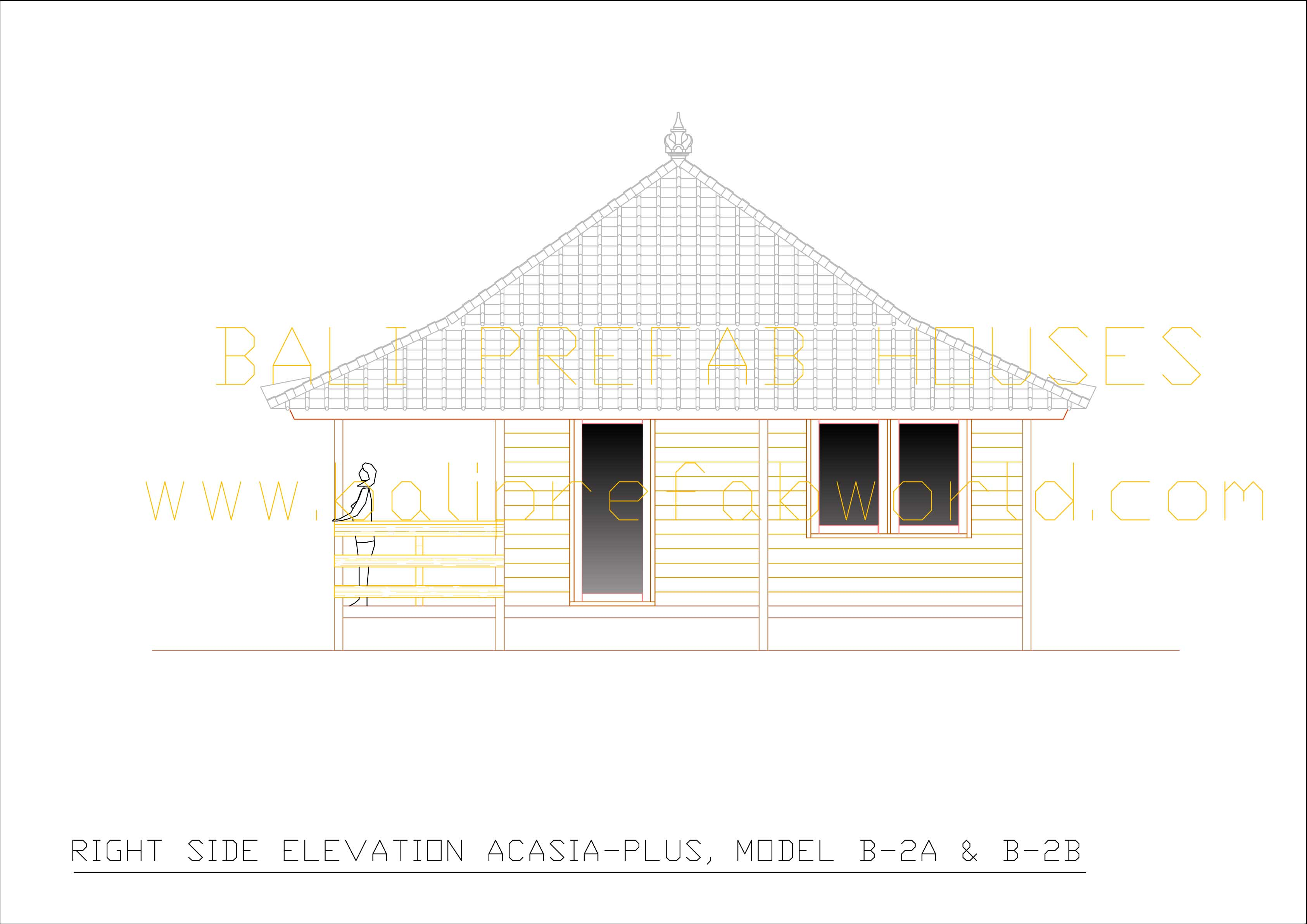 Acasia-plus right side elevation