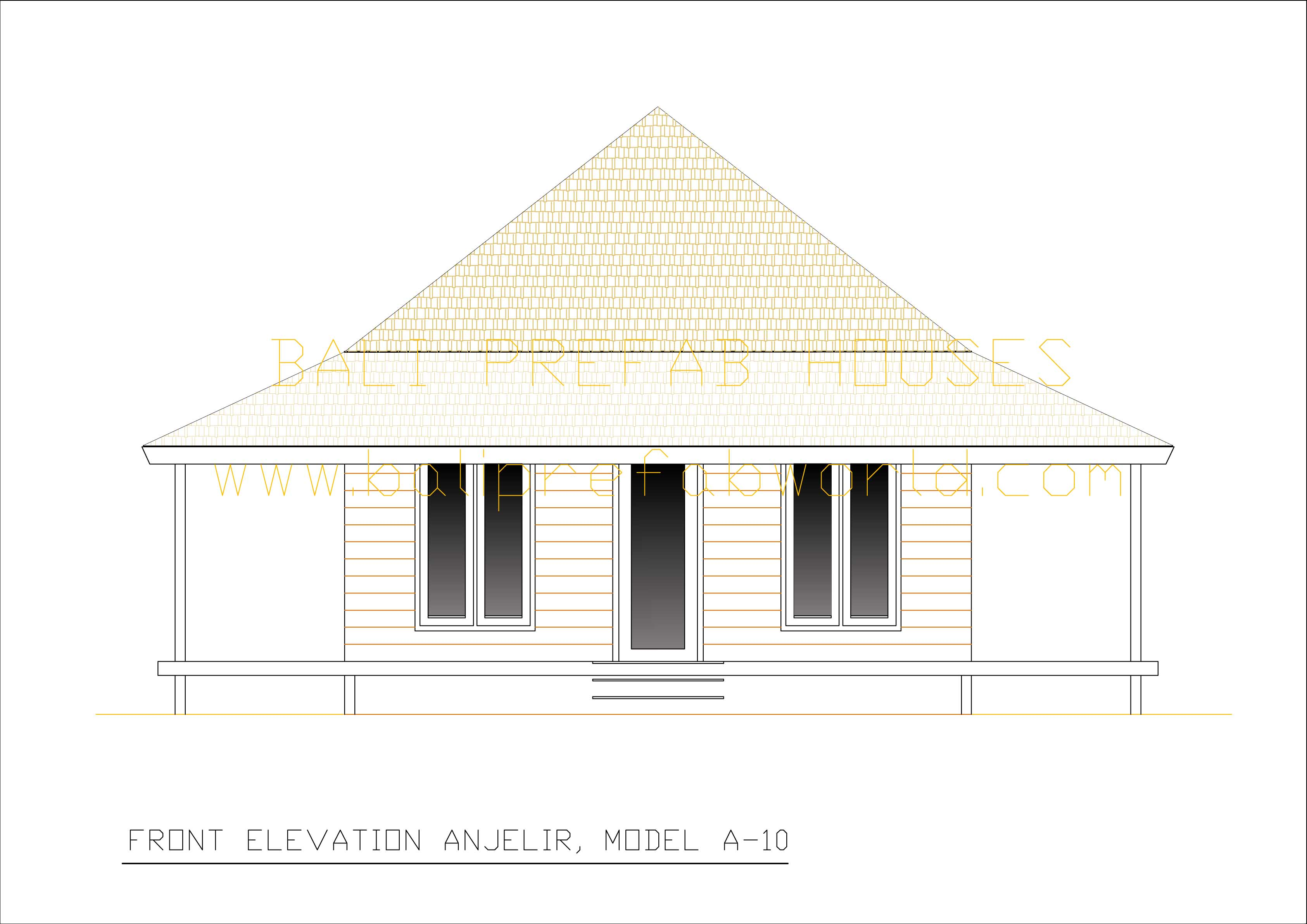 Anjelir front elevation