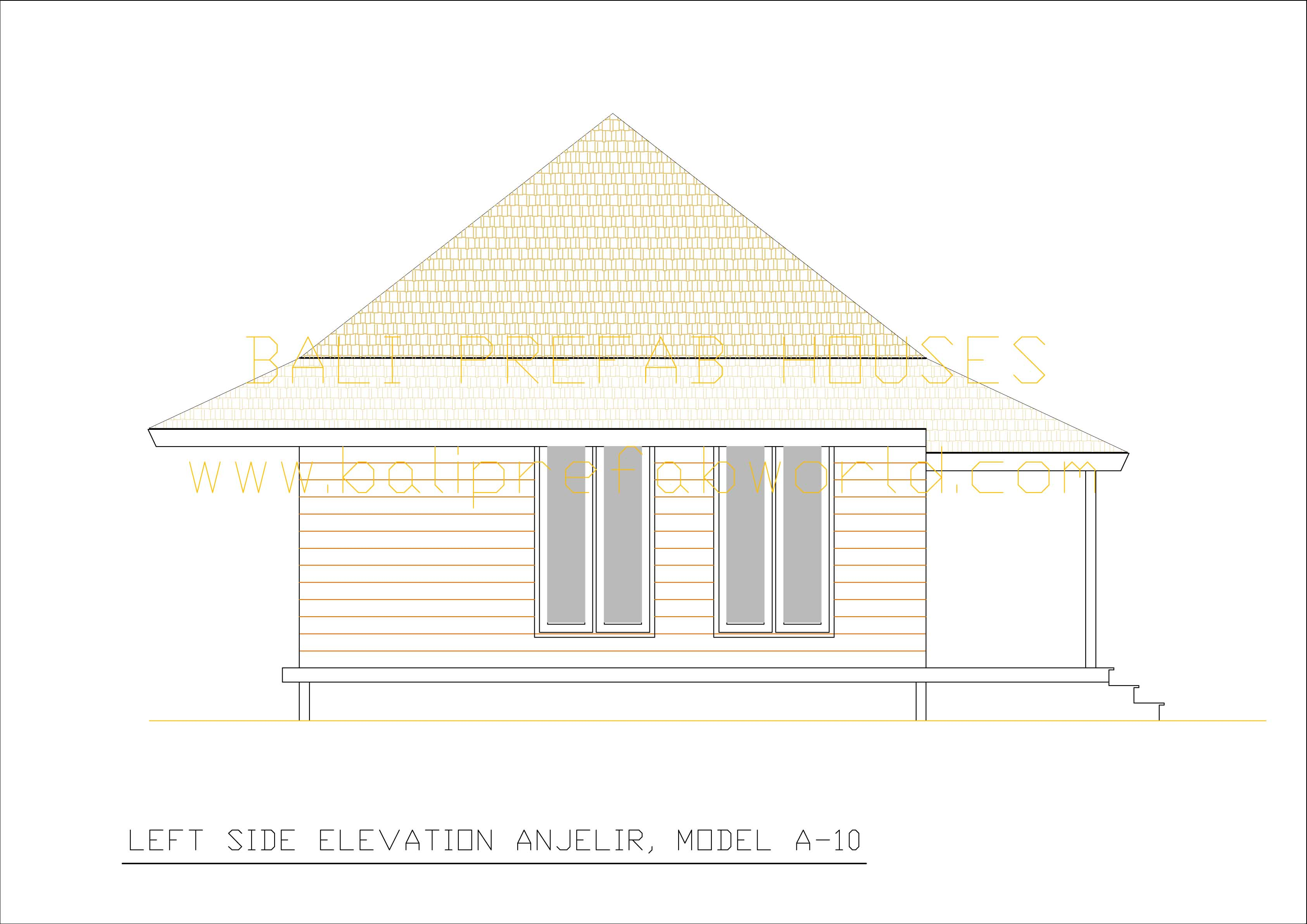 Anjelir left side elevation