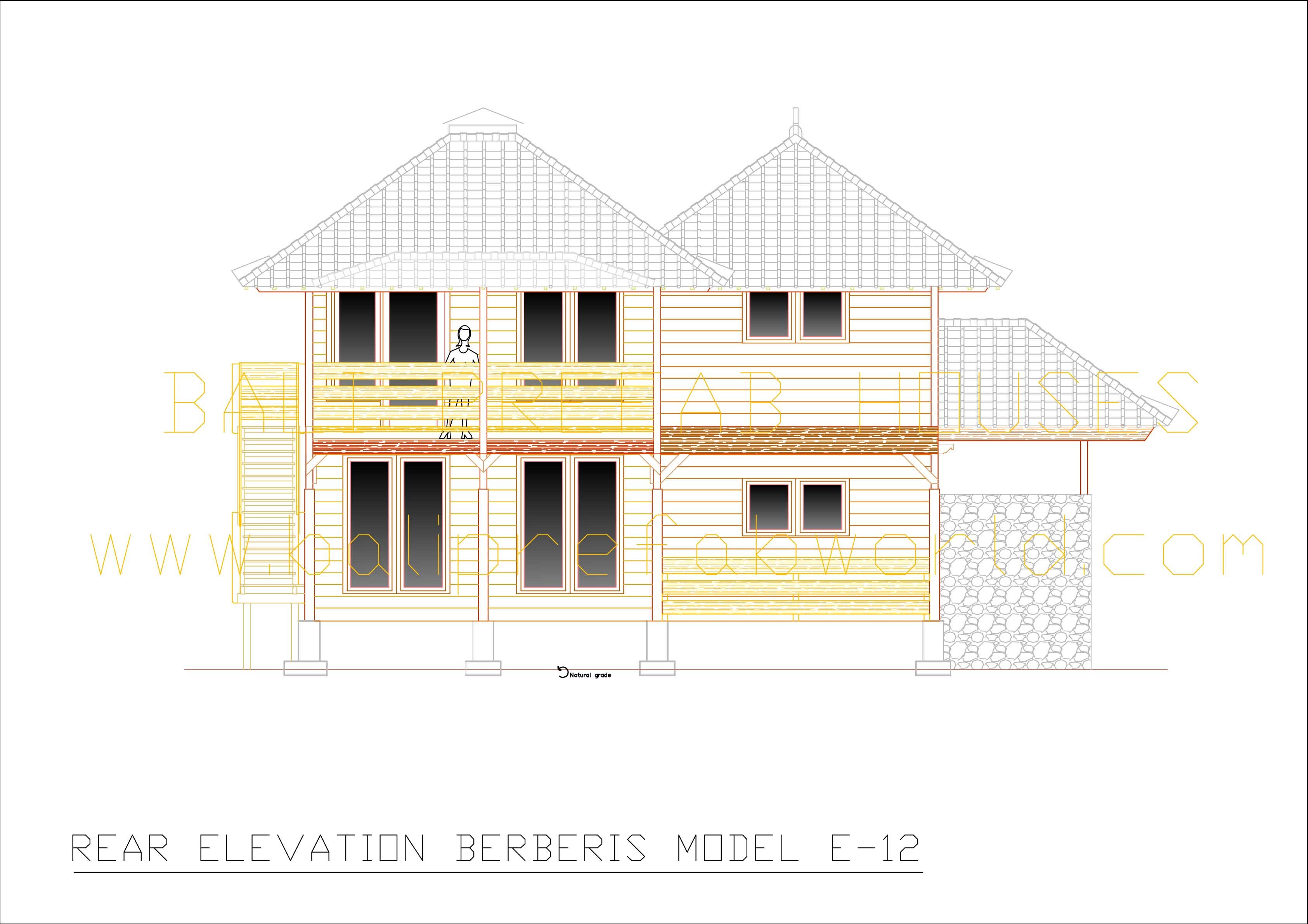 Berberis rear elevation