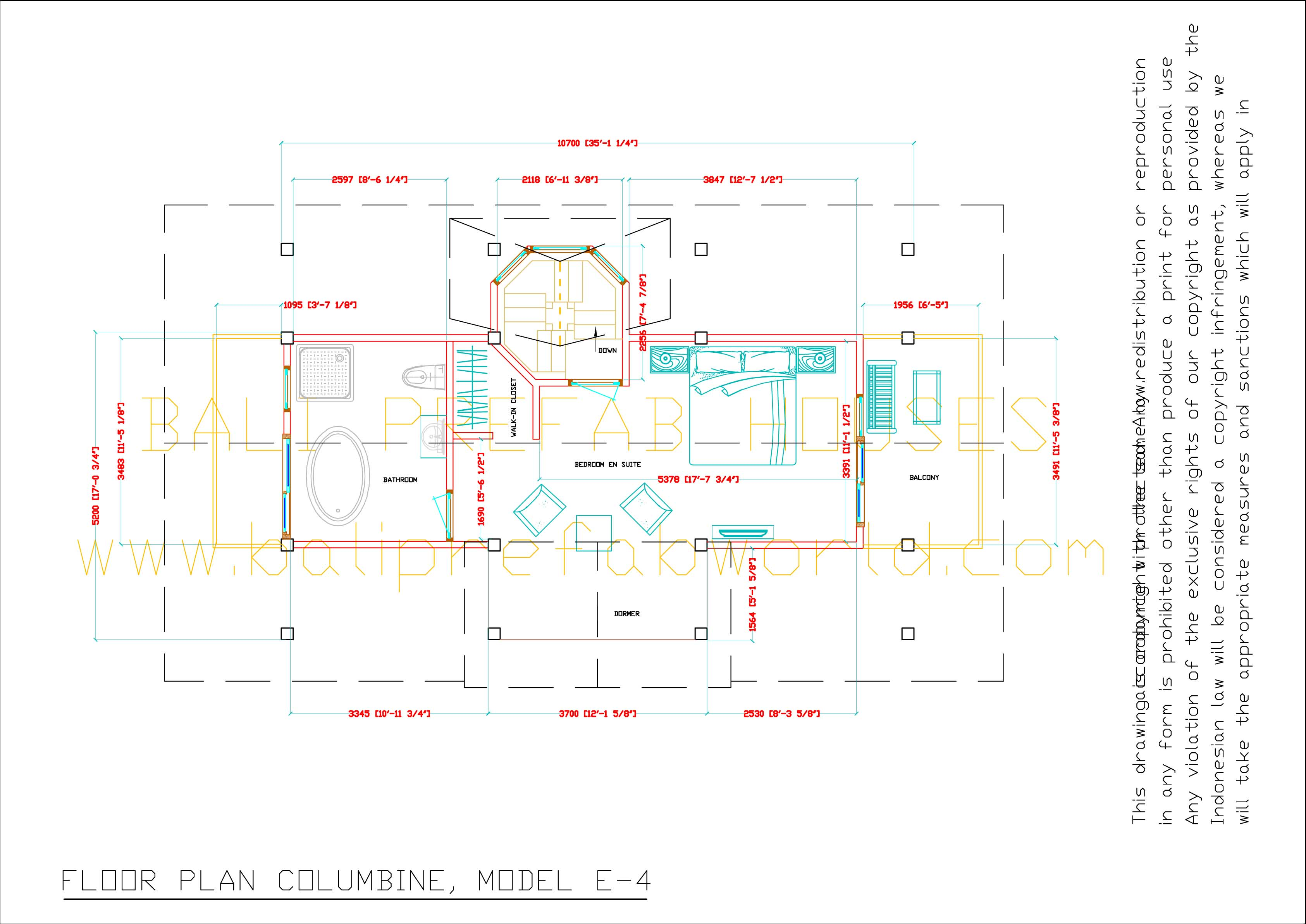 Colombine floorplan-2