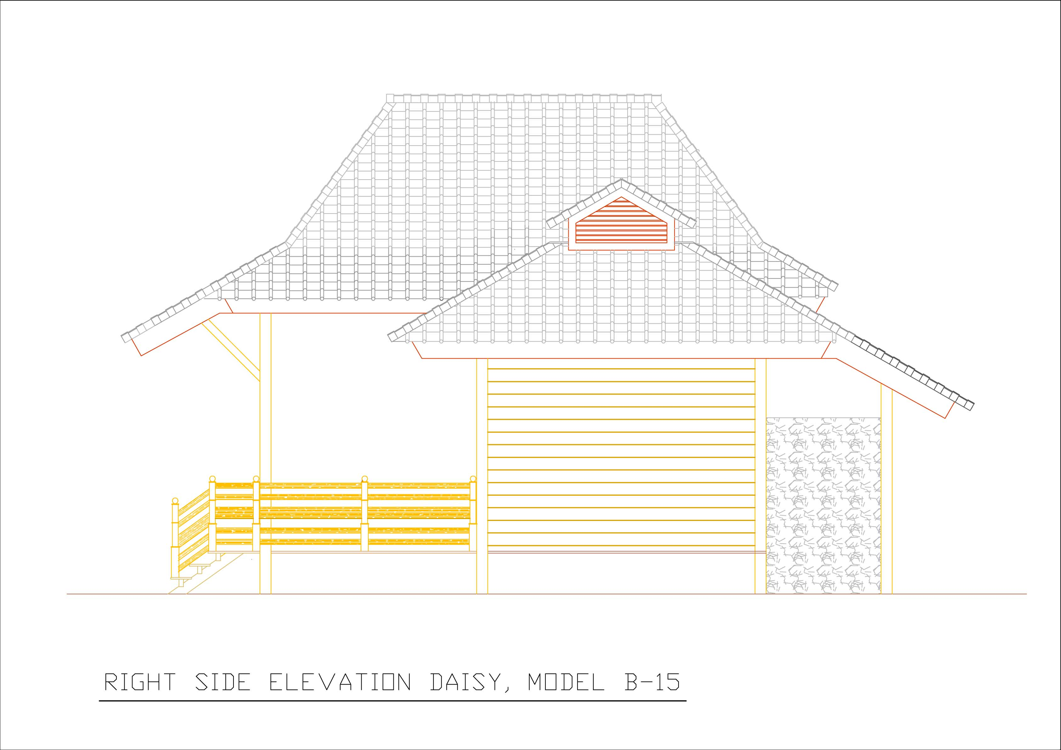Daisy right side elevation