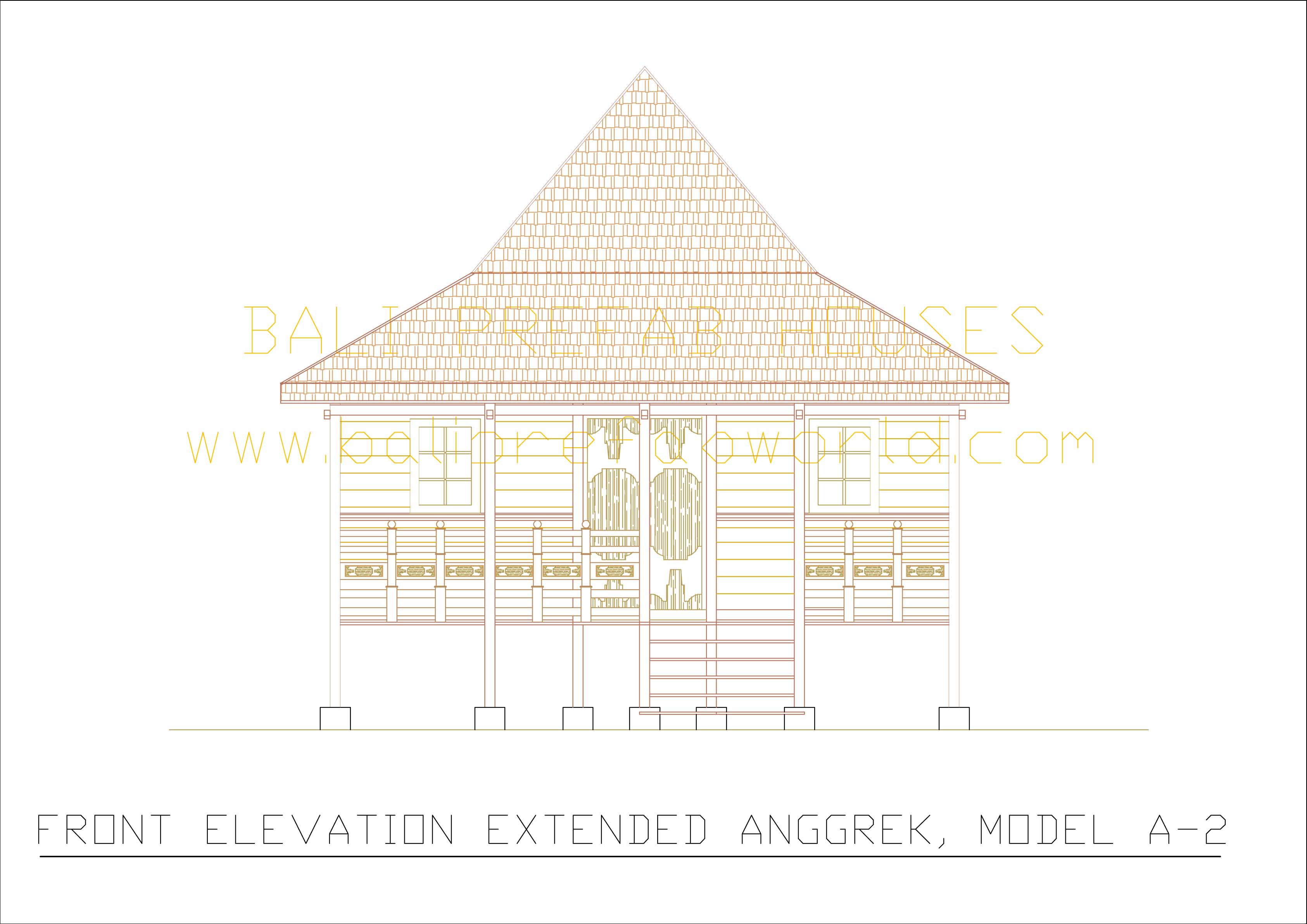 Extended Anggrek front elevation
