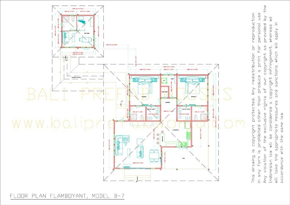 Flamboyant floorplan