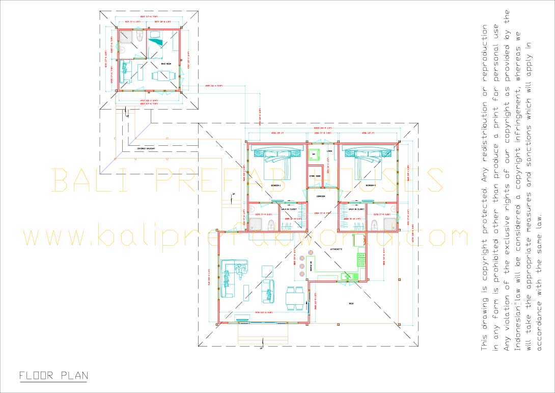 Flamboyant floorplan nts