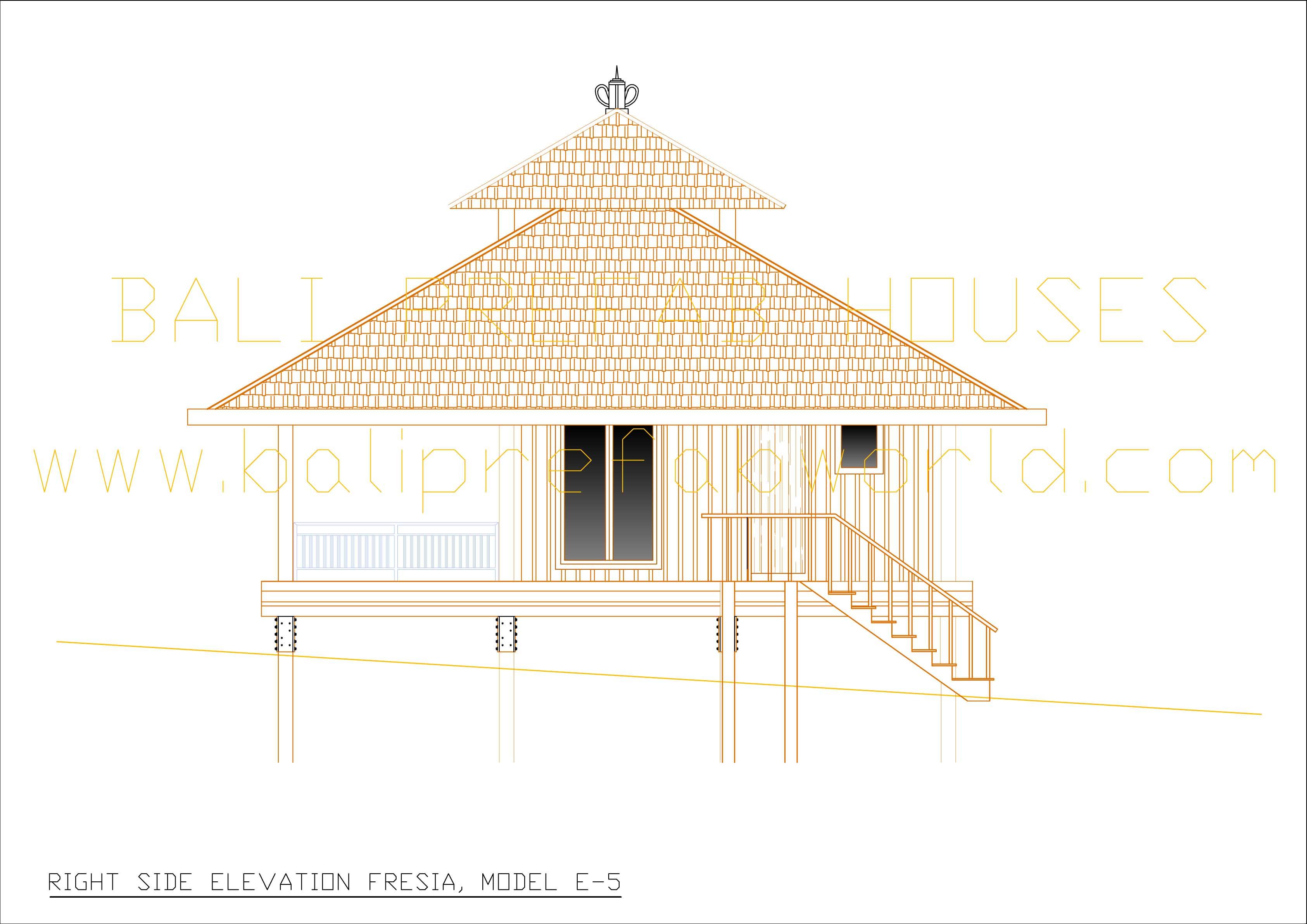 Front Elevation Side Elevation : Bali home front elevation joy studio design gallery