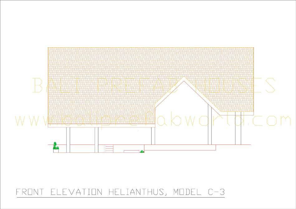 Helianthus front elevation