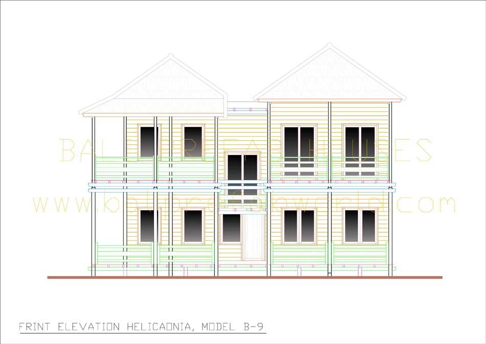 Heliconia front elevation-nr