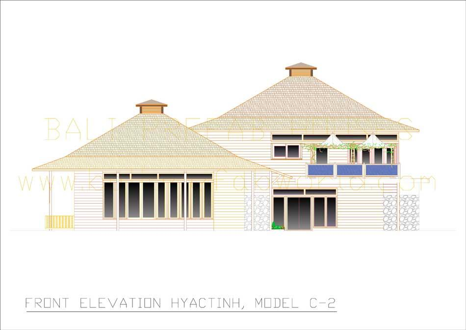 Hyacinth front elevation