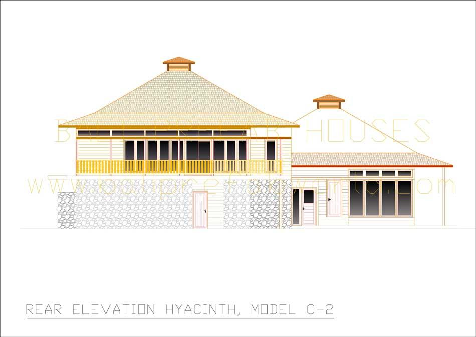 Hyacinth rear elevation