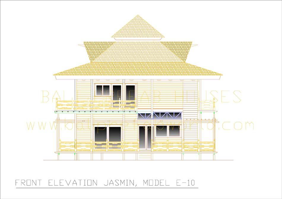 Jasmin front elevation