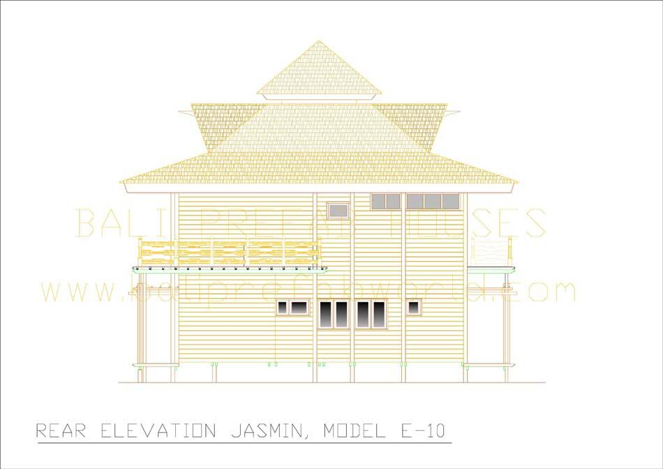 Jasmin rear elevation