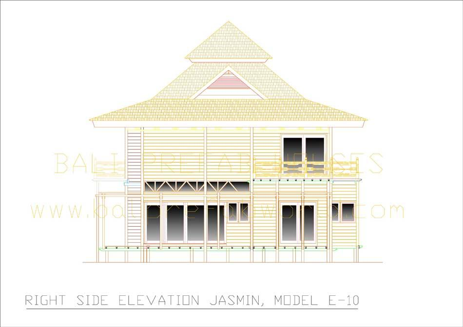 Jasmin right side elevation
