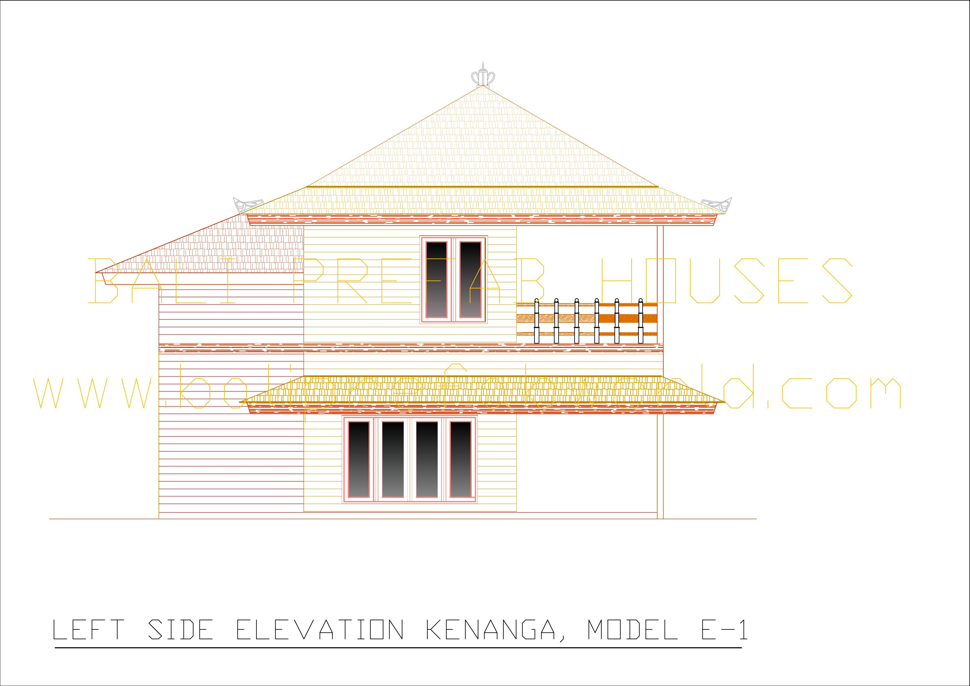 Kenanga left side elevation