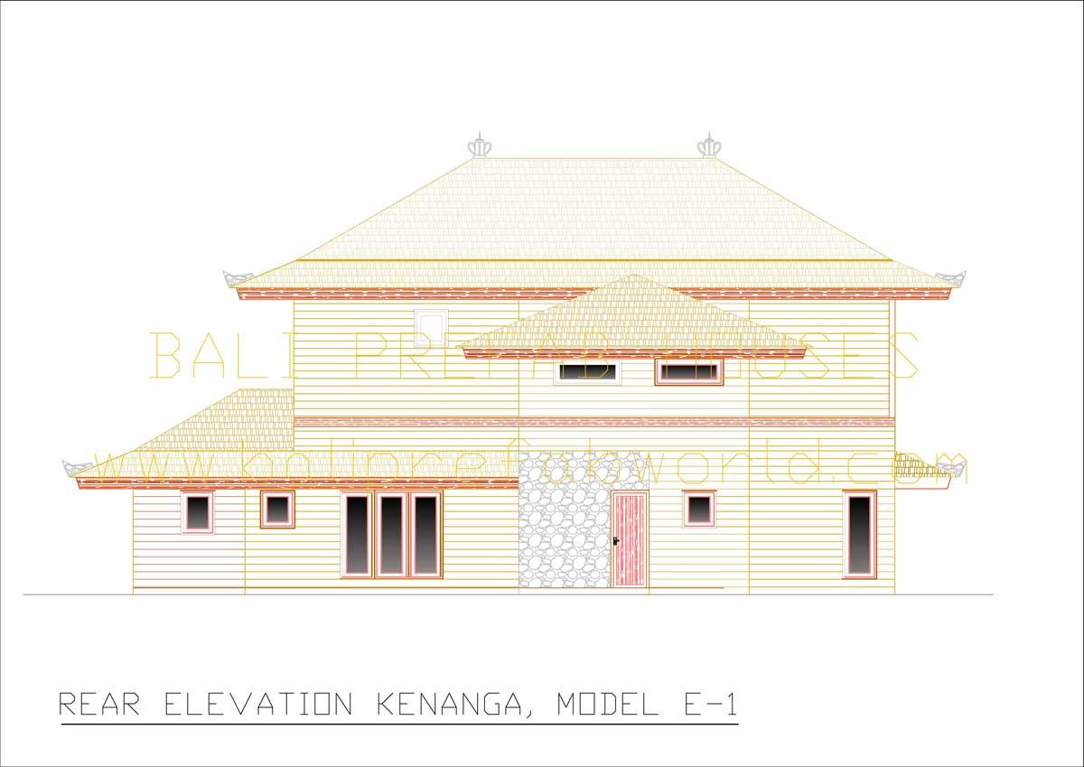 Kenanga rear elevation