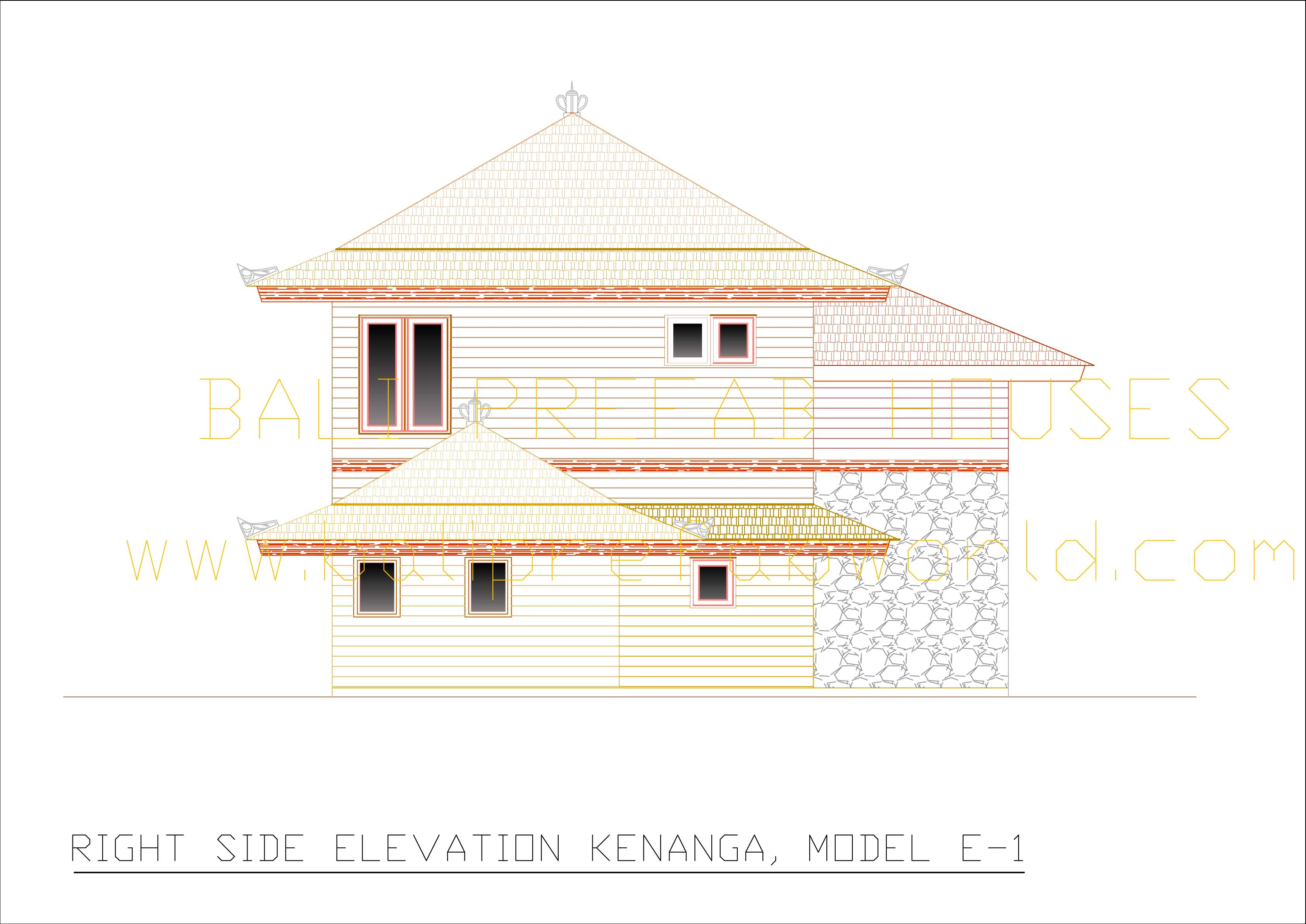Kenanga right side elevation