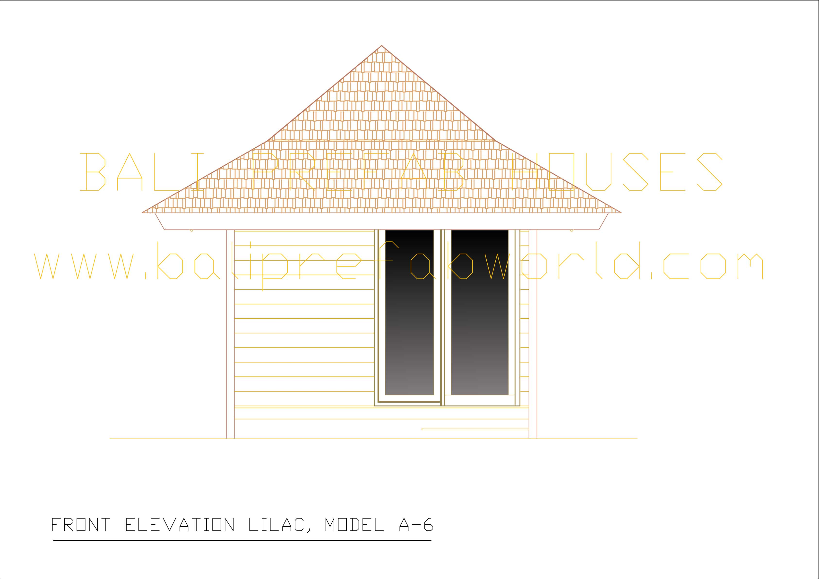 Lilac front elevation