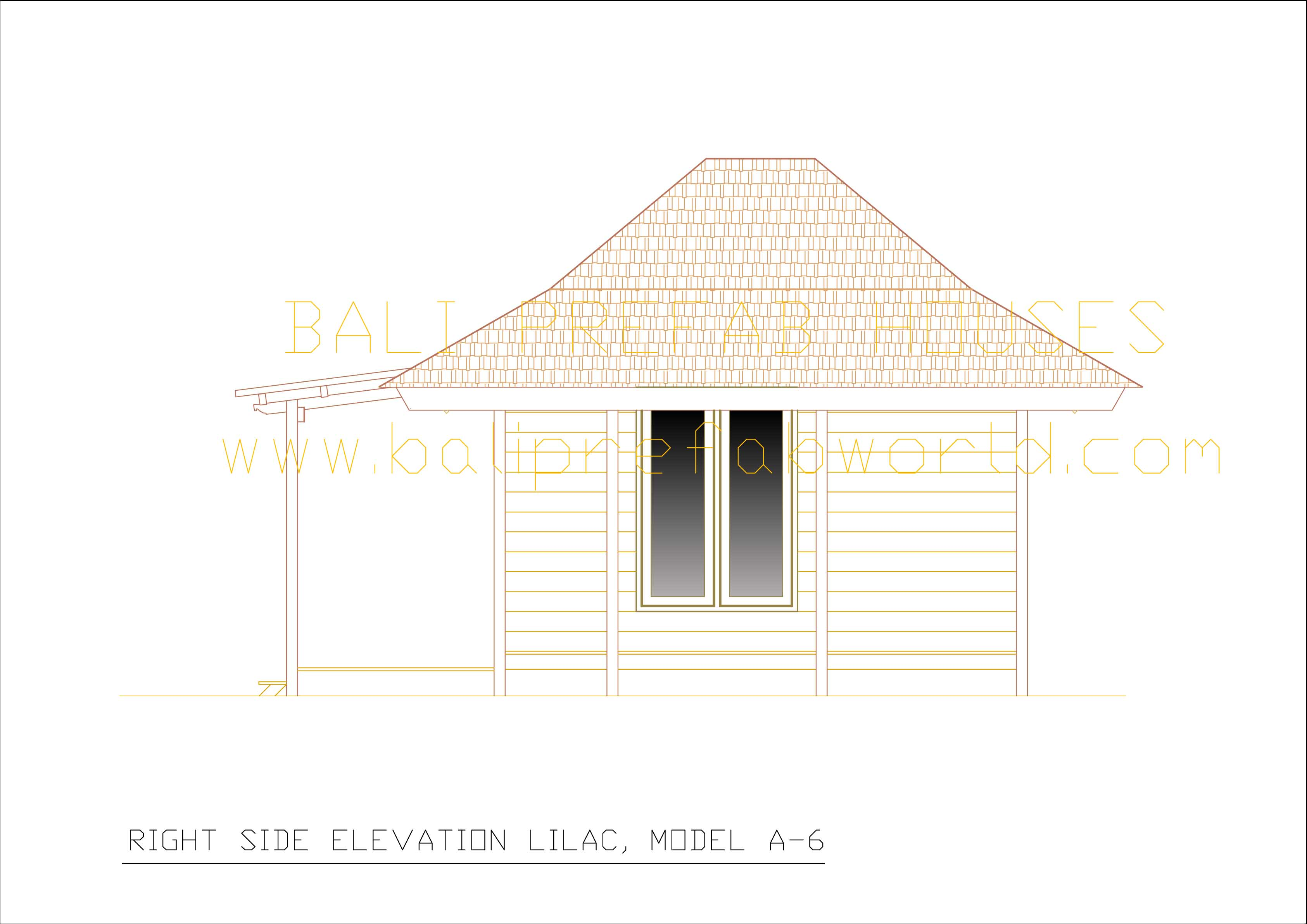 Lilac right side elevation