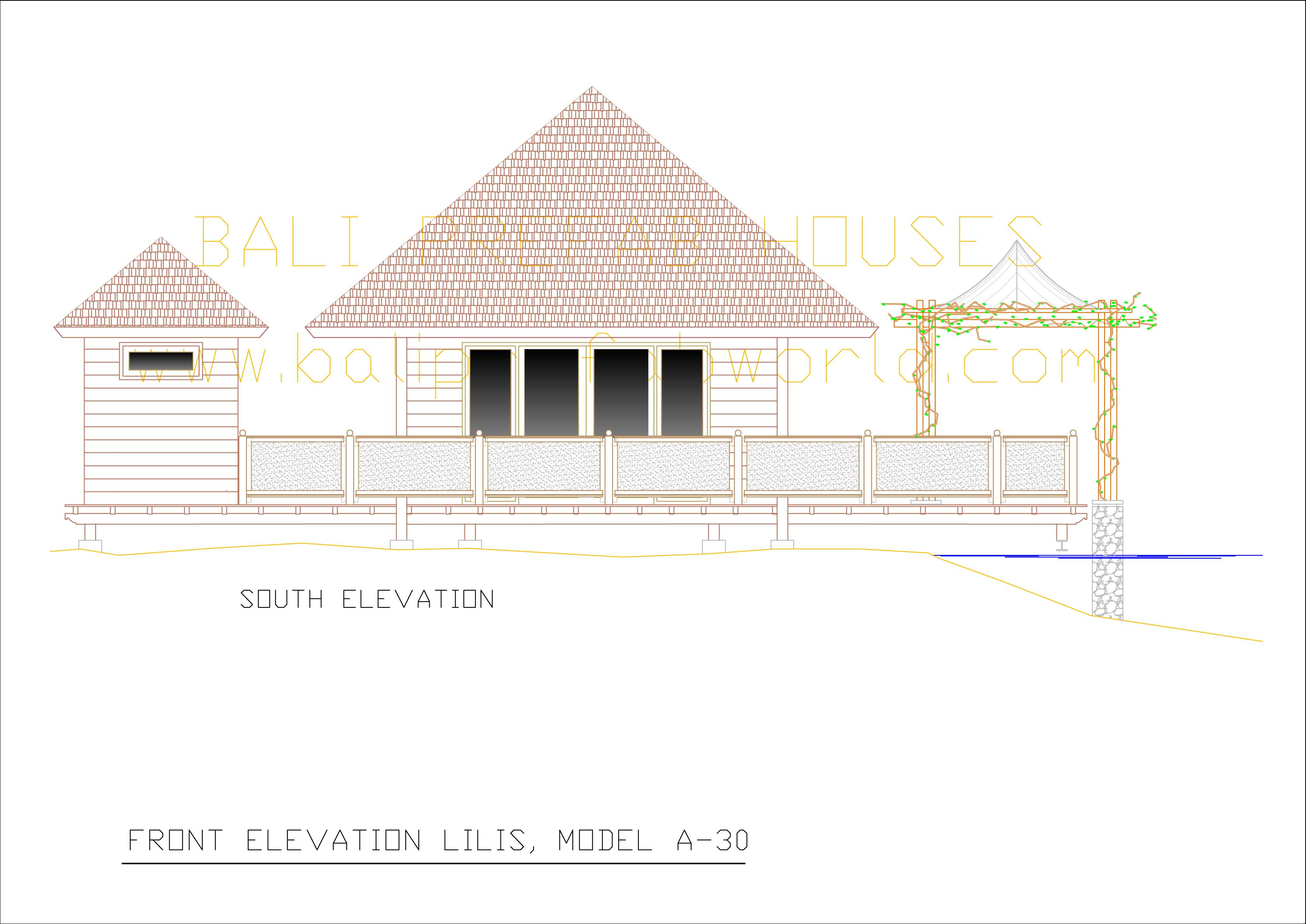 Lilis front elevation