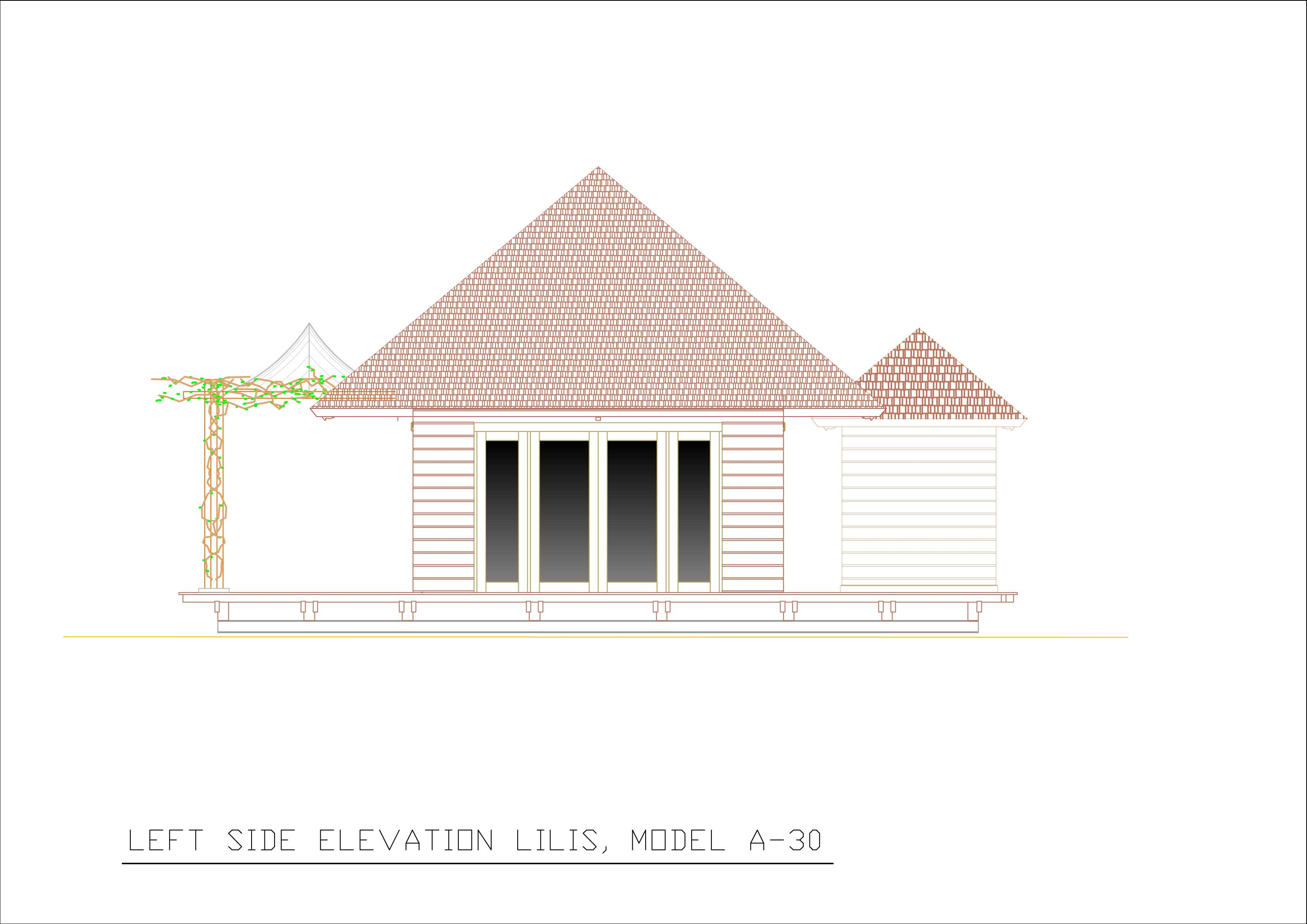 Lilis left side elevation