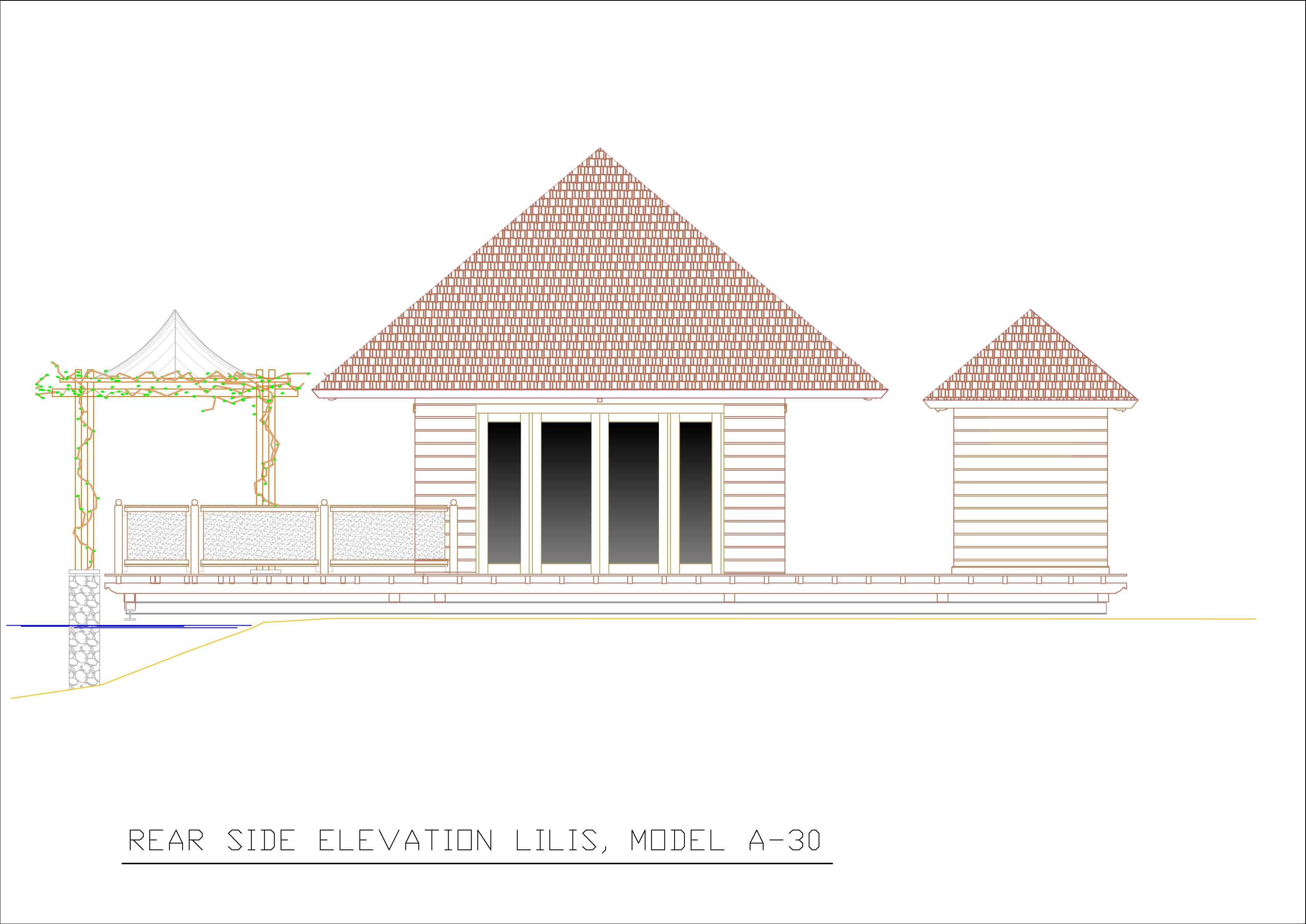 Lilis rear elevation